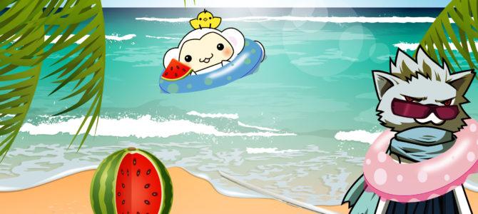 2016/08/10 皆で海へ!【とりさるモンの思い出写真日記】