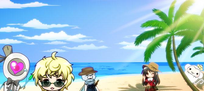 2017/07/17 海の日にビーチを散歩もん!【とりさるモンの思い出写真日記】